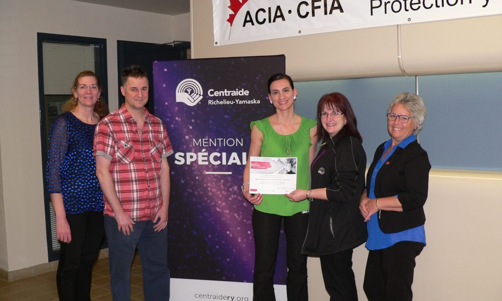 Agence canadienne insp des aliments - Laboratoire-Mention spécialeHD